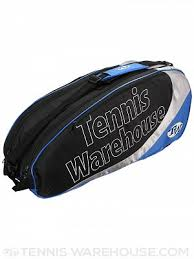Tennis Warehouse Blue 6-Pack Bag