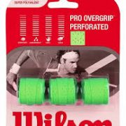Wilson Pro Overgrip Perforated green