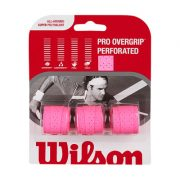 Wilson Pro Overgrip Performated Pink Large